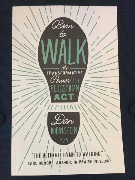 Born to Walk: The Transformative Power of a Pedestrian Act by Dan Rubinstein
