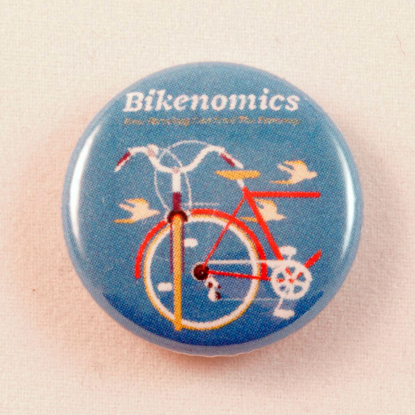 Bikenomics cover image on a blue button