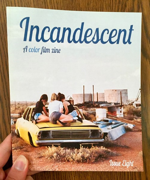 Incandescent: A color film zine: Issue Eight