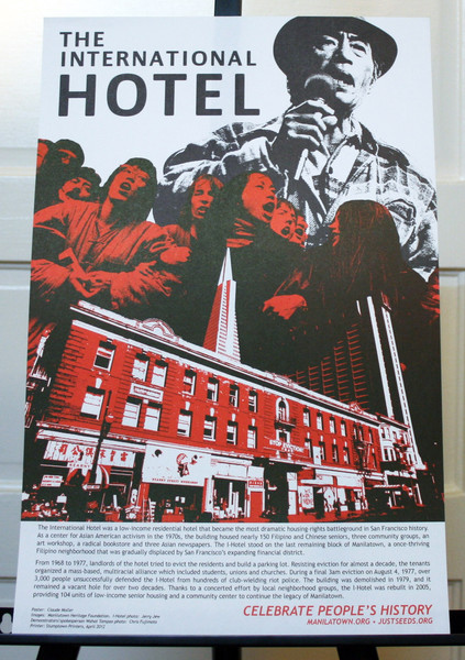 International Hotel San Francisco housing gentrification justseeds celebrate people's history poster