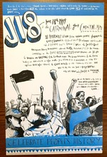 J18: The Carnival Against Capitalism poster