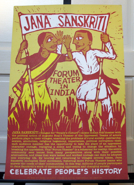 Jana Sanskriti Forum Theater in India Bengali people's culture