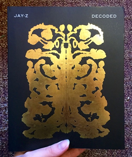 Decoded book cover by Jay-Z