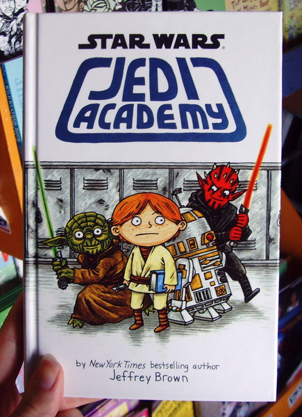 Star Wars Jedi Academy by Jeffrey Brown
