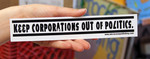 Sticker #029: Keep Corporations Out Of Politics