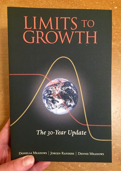 Limits to Growth: The 30-Year Update [The Earth with some lines going across it]