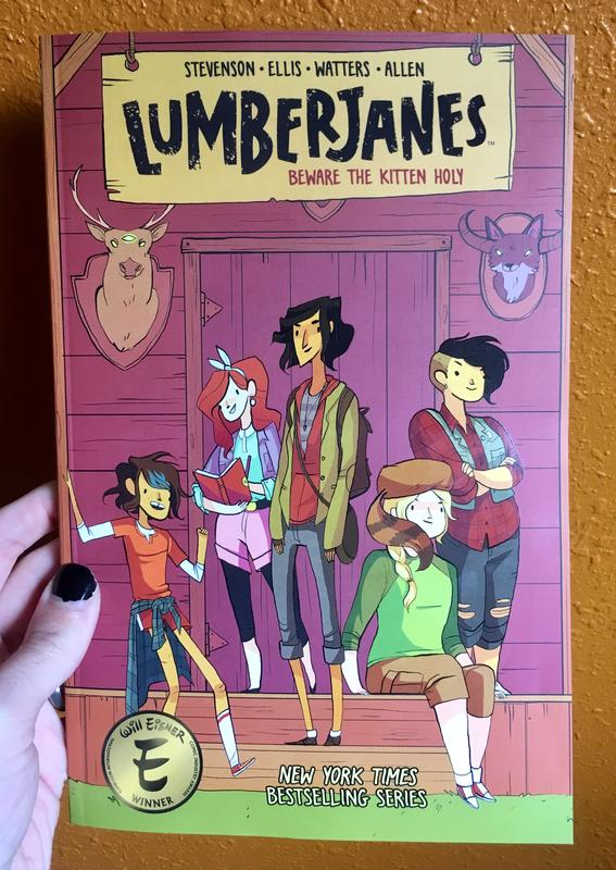 Lumberjanes Vol 1: Beware the Kitten Holy