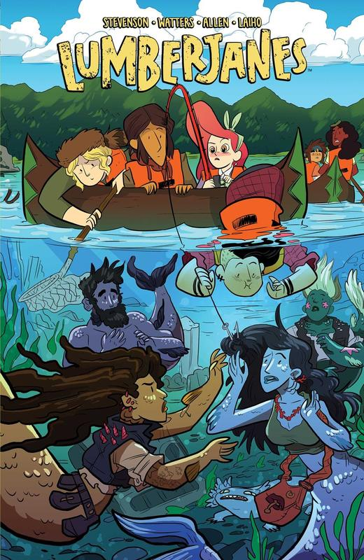 Lumberjanes Vol 5: Band Together