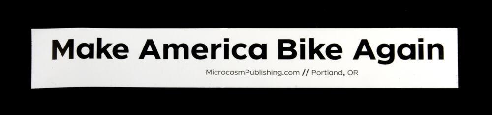 Sticker #390: Make America Bike Again
