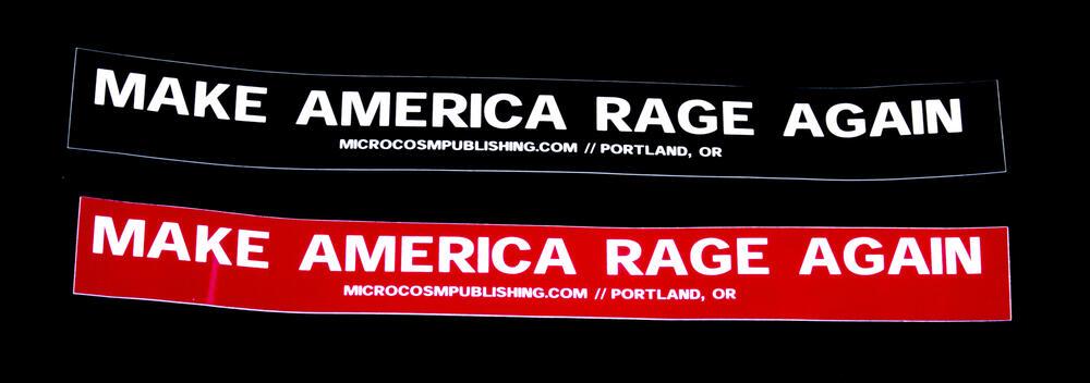 Sticker #380: Make America Rage Again