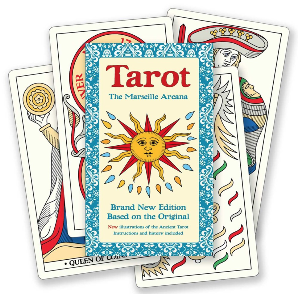 Tarot: The Marseille Arcana Reproduction Pack blowup