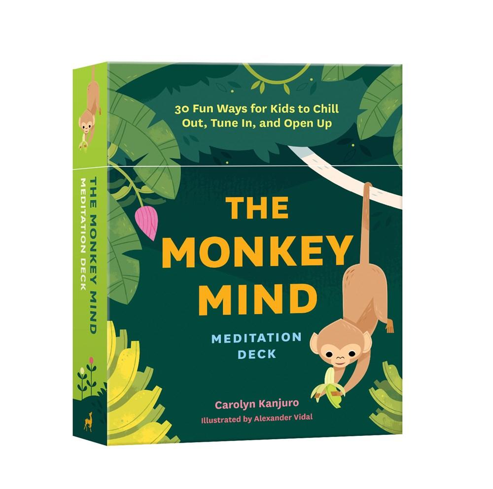 Monkey Mind Meditation Deck: 30 Fun Ways for Kids to Chill Out, Tune In, and Open Up