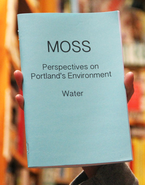 Moss portland water zine cover blowup