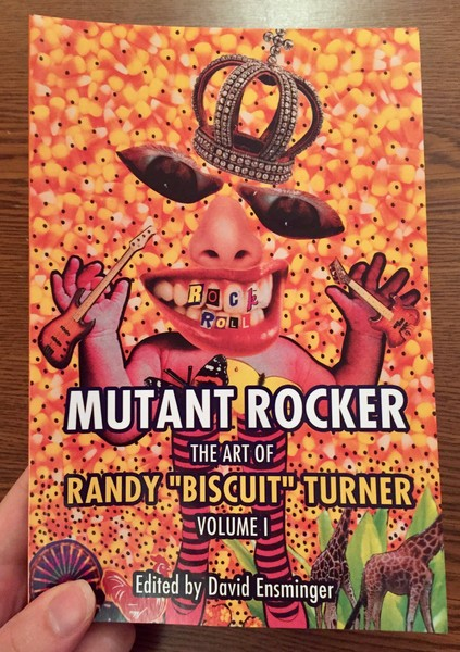 "Mutant Rocker: The Art of Randy ""Biscuit"" Turner, Volume 1 blowup"