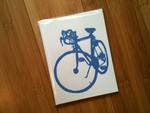 Neighborhood Bikes greeting card set