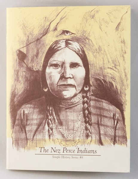 a zine with a drawing of member of the Nez Perce Indians