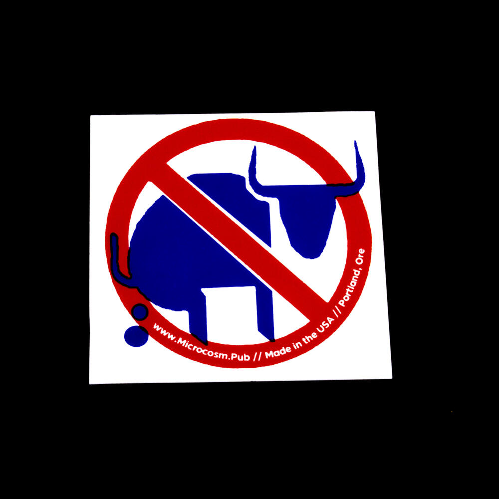 Sticker #447: No Bullshit