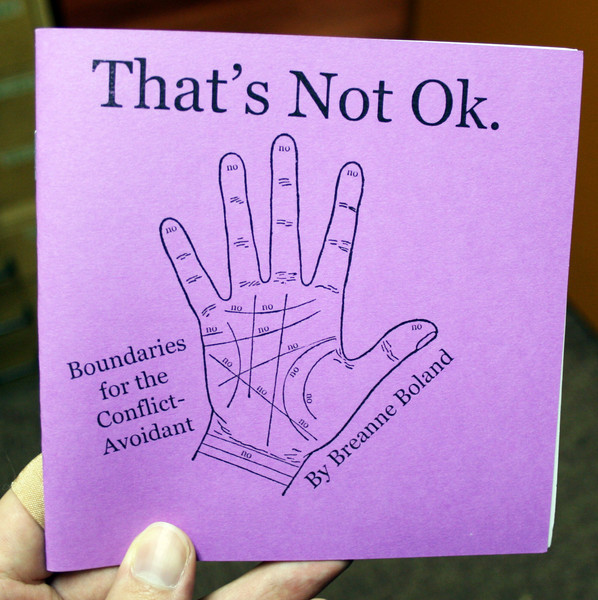 That's Not Ok by Breanne Boland