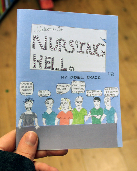 Welcome to Nursing Hello zine cover