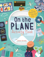 On The Plane Activity Book: Includes puzzles, mazes, dot-to-dots and drawing activities