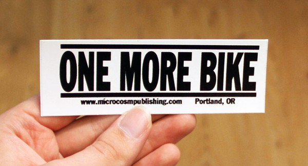 Sticker 121 One More Bike