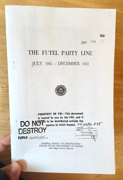 Party Line: Issue #2: The Futel Party Line