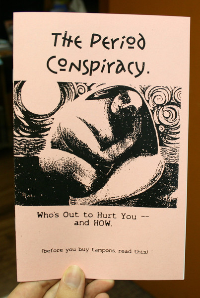 Period Conspiracy zine cover