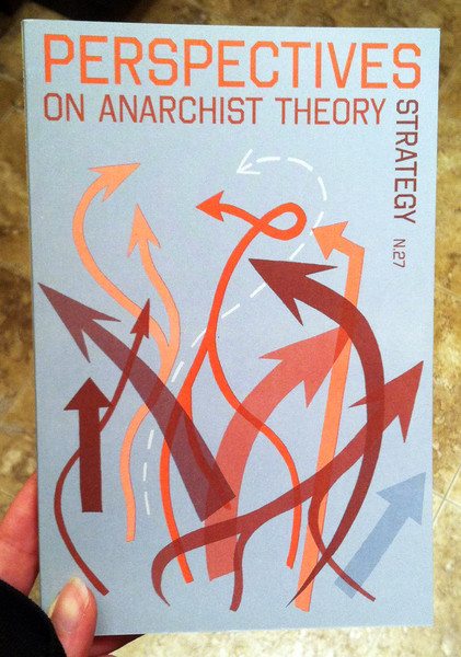 perspectives on anarchist theory n.27: strategy by the Institute for Anarchist Studies