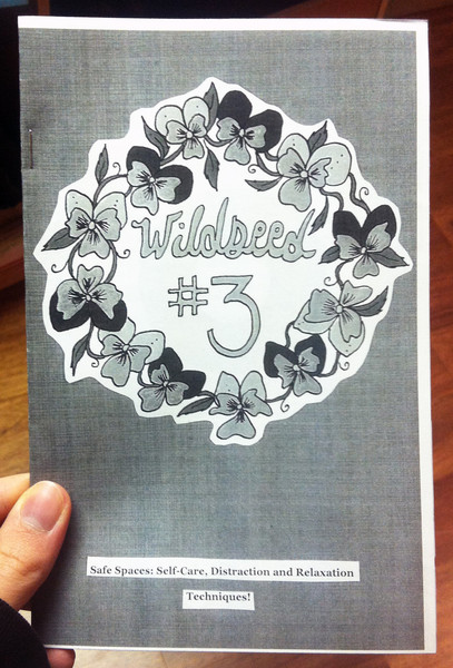 Wildseed Feminism number 3 zine cover