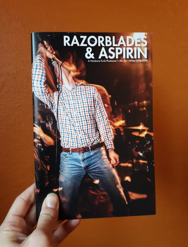 Razorblades & Aspirin: A Hardcore Punk Photozine No. 5 blowup