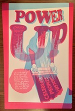 Corita Kent poster (Power Up)