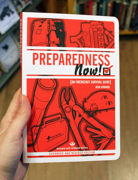 Preparedness Now! red book cover blowup