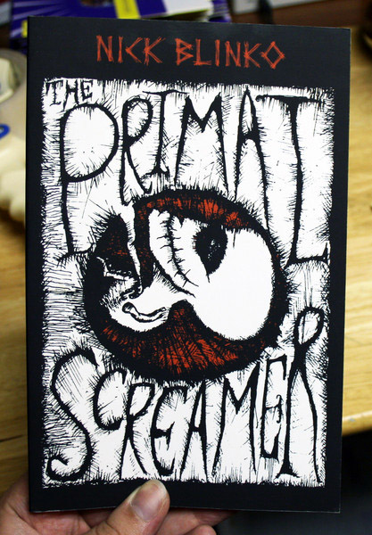 the Primal Screamer by Nick Blinko blowup