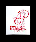 Sticker #353: Proud BikeSexual