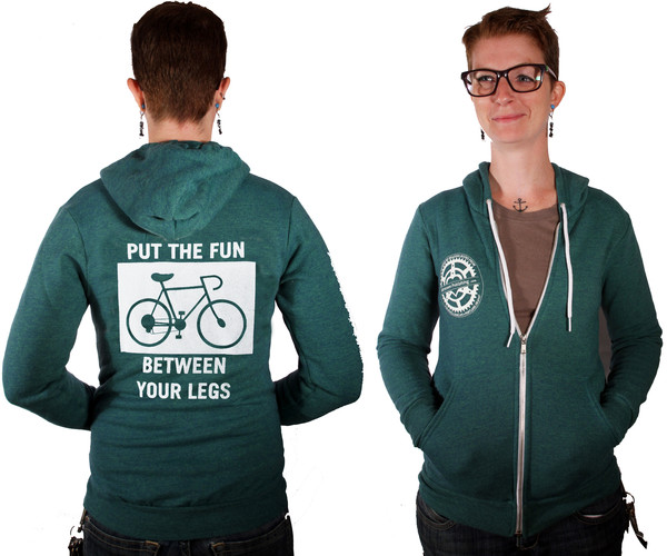Put the Fun Between Your Legs sweatshirt