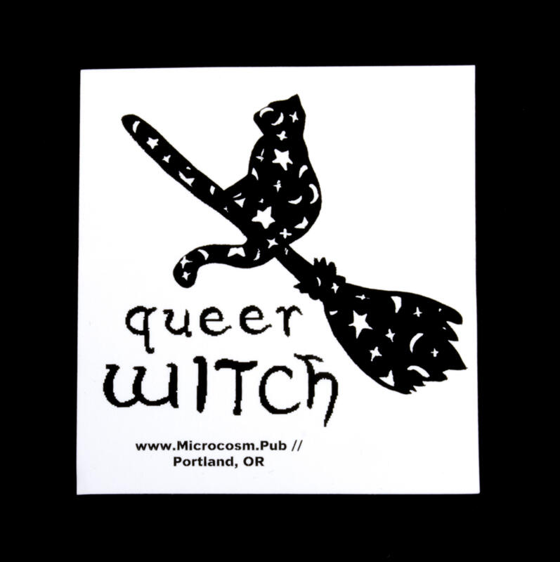 Sticker #448: Queer Witch blowup