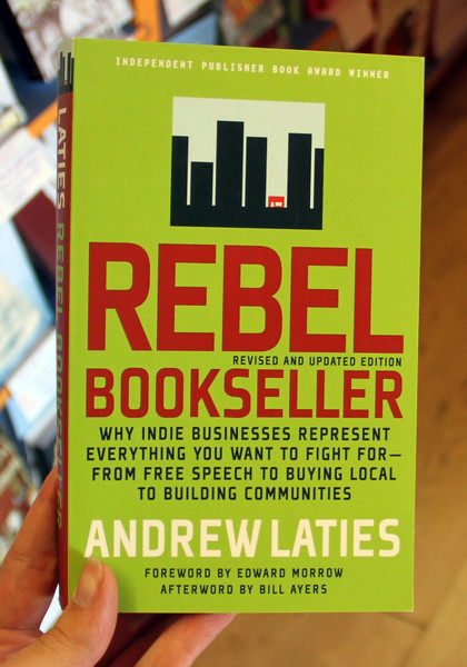 Rebel Bookseller by Andrew Laties blowup