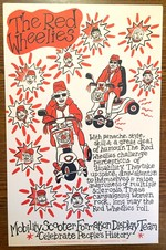 Red Wheelies poster