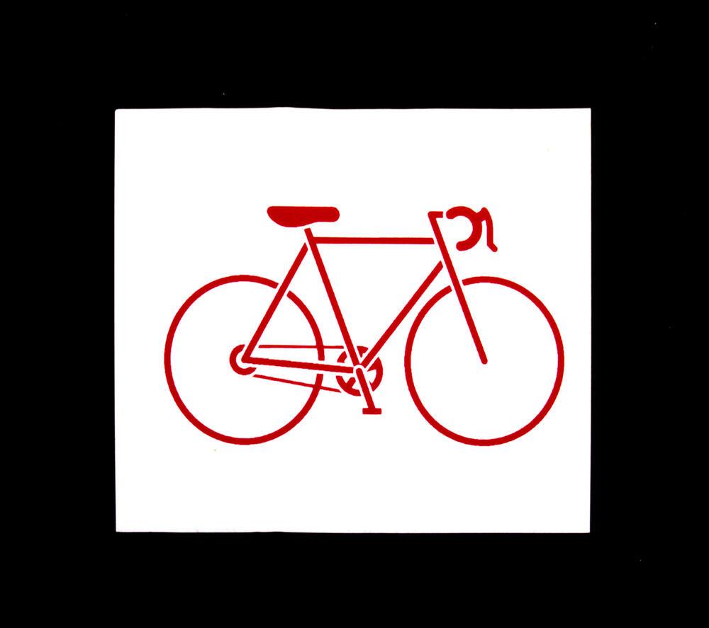 road bike vinyl sticker