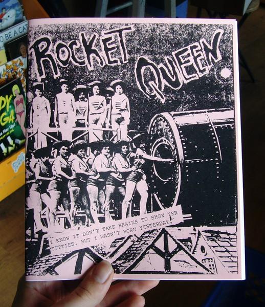 Rocket Queen zine cover