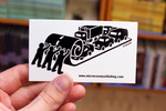 Sticker #171: Roll Up Cars