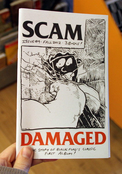 Scam #9: The Story of Black Flag's Classic First Album, Damaged!