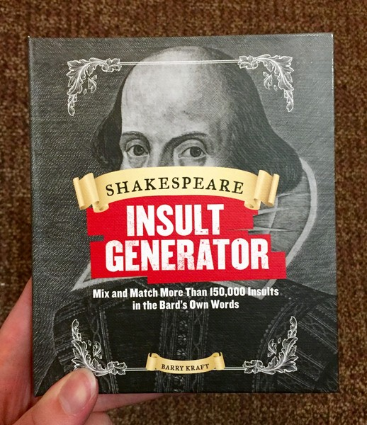 Shakespeare Insult Generator blowup
