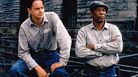 a movie still from the Shawshank Redemption