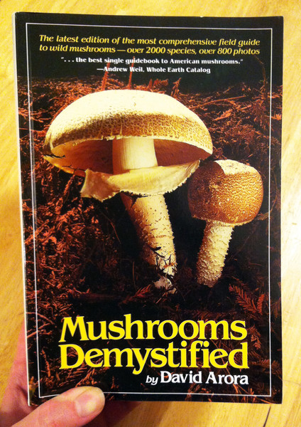 Mushrooms Demystified by David Arora blowup