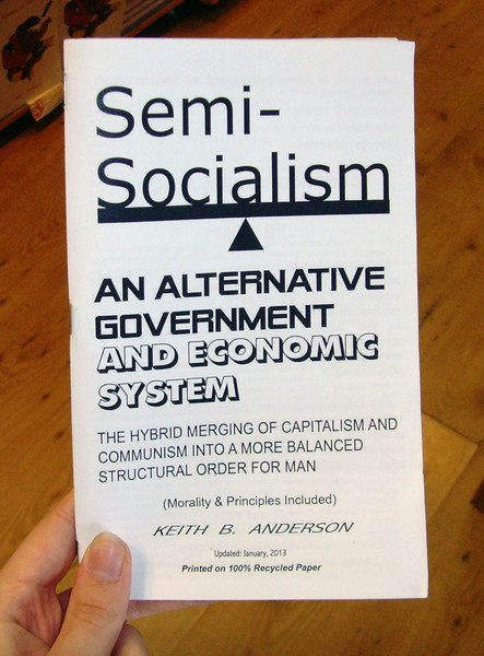 Semi-Socialism zine cover blowup