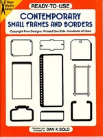 Ready to use Contemporary Small Frames and Borders