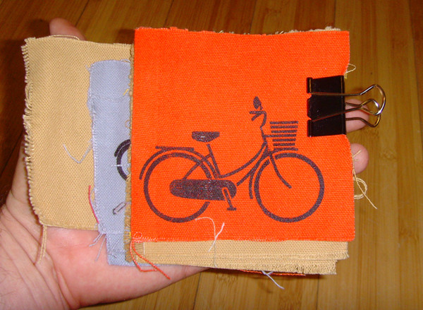 patch with image of city bicycle