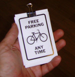 Sticker #283: Free Parking