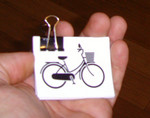 Sticker #293: City Bike